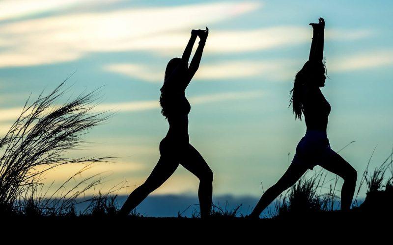 Gezondheid - Yoga - Banner